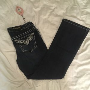 ⚡️NEW⚡️Paisley sky jeans size 12